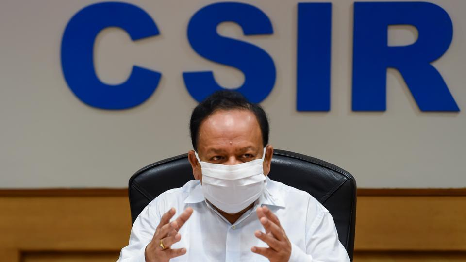 Union health minister Harsh Vardhan has accepted community transmission in India, but  the trend is only in a few districts of certain states, he added.