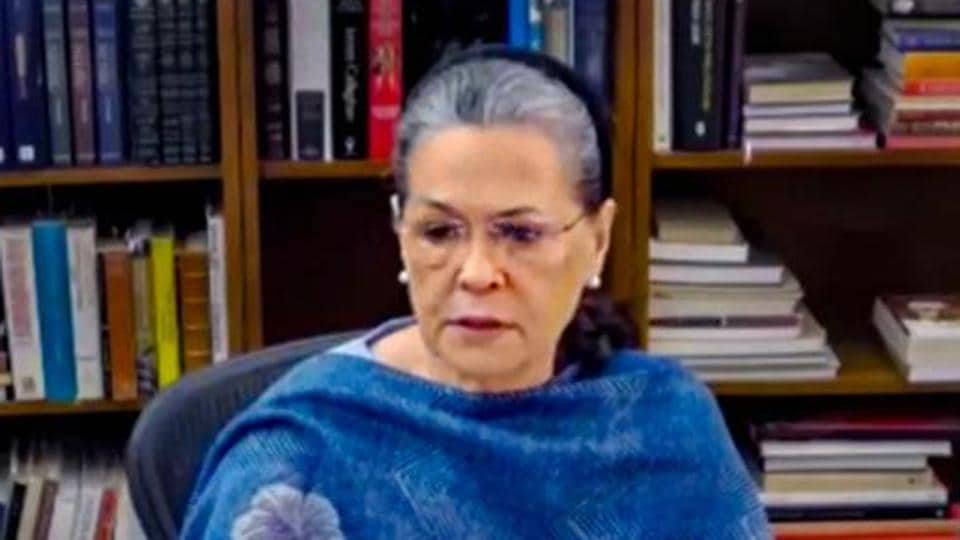 Congress chief Sonia Gandhi has said that the BJP has simultaneously demolished the economy, built painstakingly by the hard work of fellow Indians and the vision of successive Congress governments.