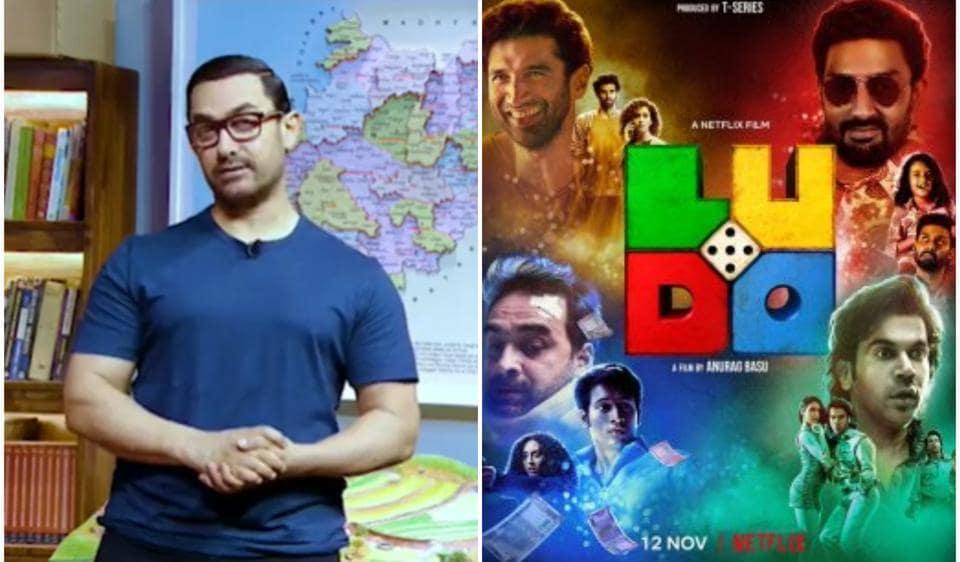 Aamir Khan blown away by Ludo trailer, asks Anurag Basu to host a virtual screening: 'Can't wait to watch it'