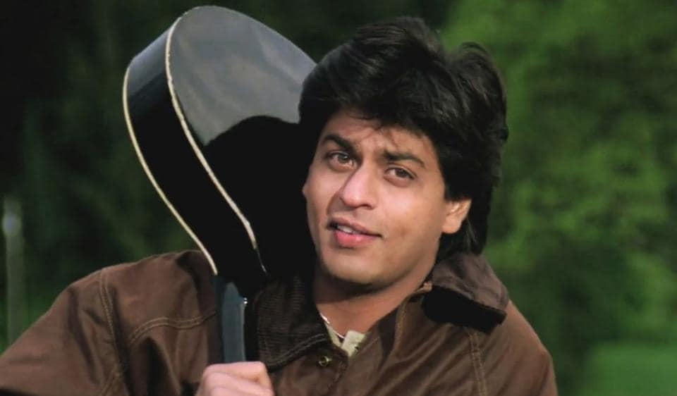 Shah Rukh Khan played Raj in the iconic 1995 blockbuster Dilwale Dulhania Le Jayenge.