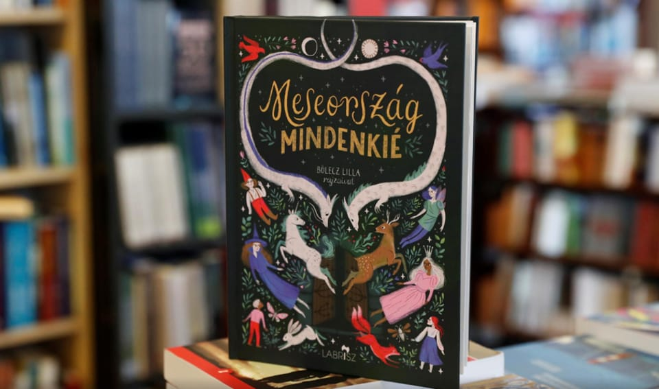 """Boldizsar Nagy hoped that the tales in the children's book """"Wonderland Is For Everyone"""" would help youngsters to learn to accept minorities and fight social ostracism."""