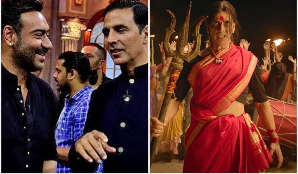 Ajay Devgn says he watched Laxmmi Bomb trailer multiple times, Akshay Kumar cherishes praise from the 'fine actor'