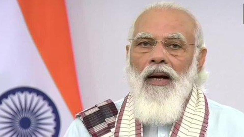 Prime Minister Narendra Modi addressed the nation on Tuesday.