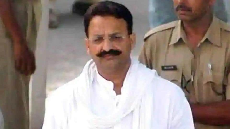 The official said Mukhtar Ansari has been in the Punjab jail since January 2019 when he was produced there in a local court on a complaint of extortion lodged by a local builder. (Photo HT)