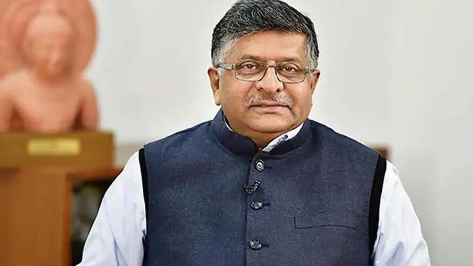ITminister Ravi Shankar Prasad.