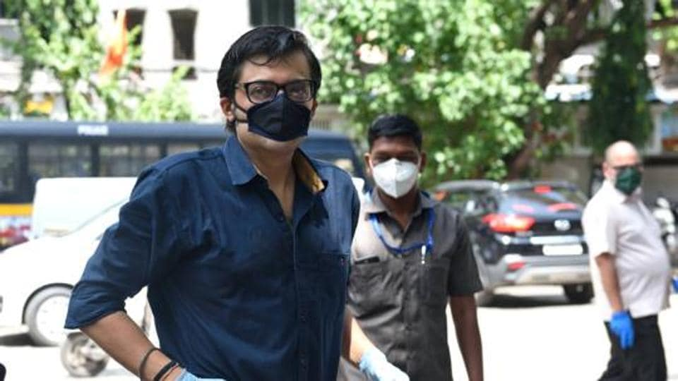 Republic TV's editor-in-chief and primetime anchor Arnab Goswami.