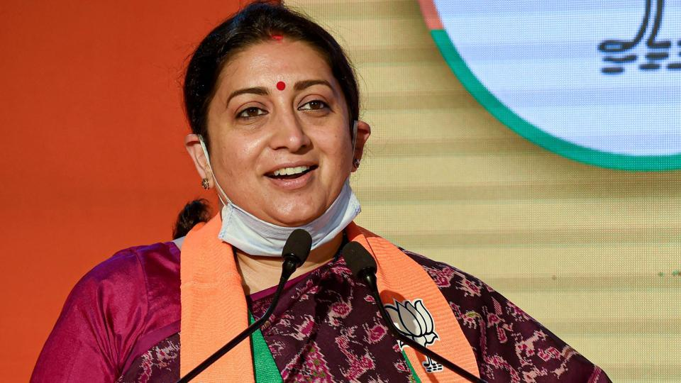 Union minister and Amethi MP Smriti Irani held a review meeting of the development works in her Lok Sabha constituency with senior officials of Amethi district and inaugurated some of the projects virtually.
