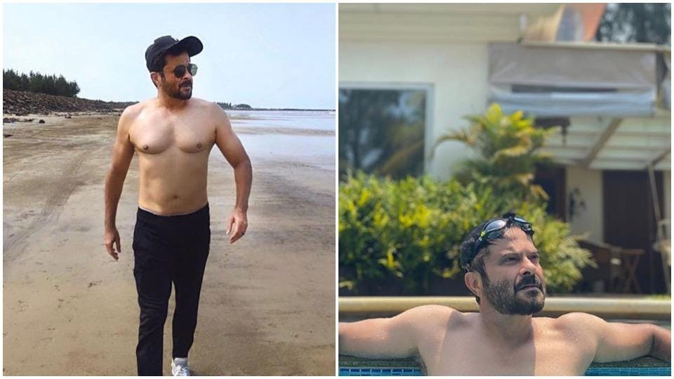 Anil Kapoor is enjoying his fit new physique.