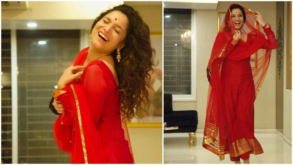 Ankita Lokhande has shared new pictures on Instagram.