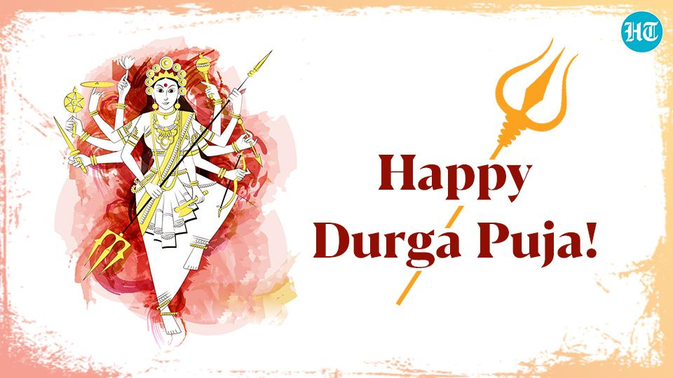 Durga Puja 2020: SMS, GIFs, WhatsApp messages and Facebook statuses