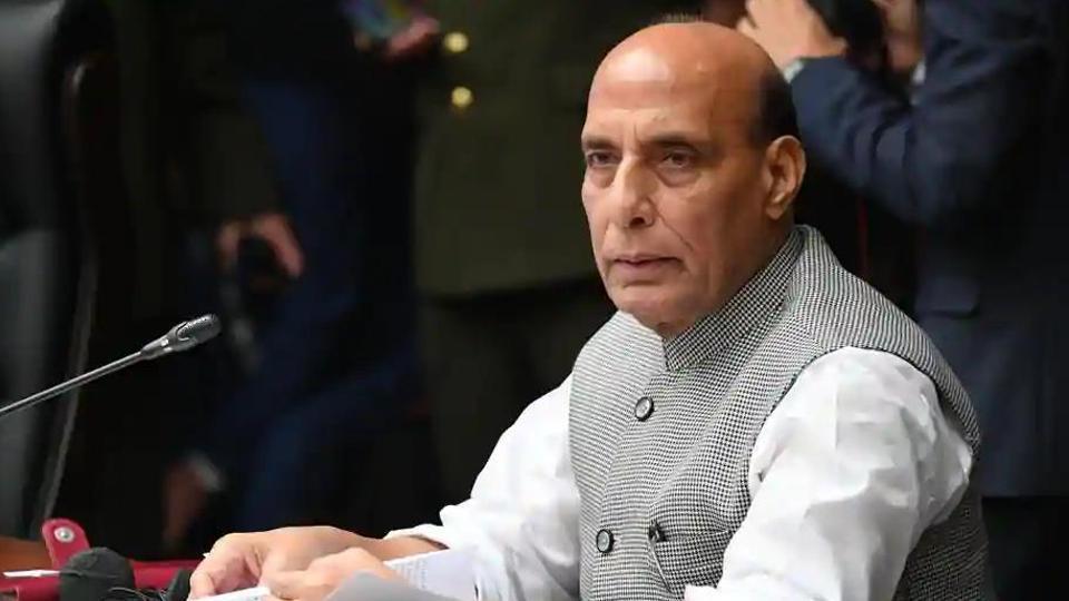 Defense Minister Rajnath Singh