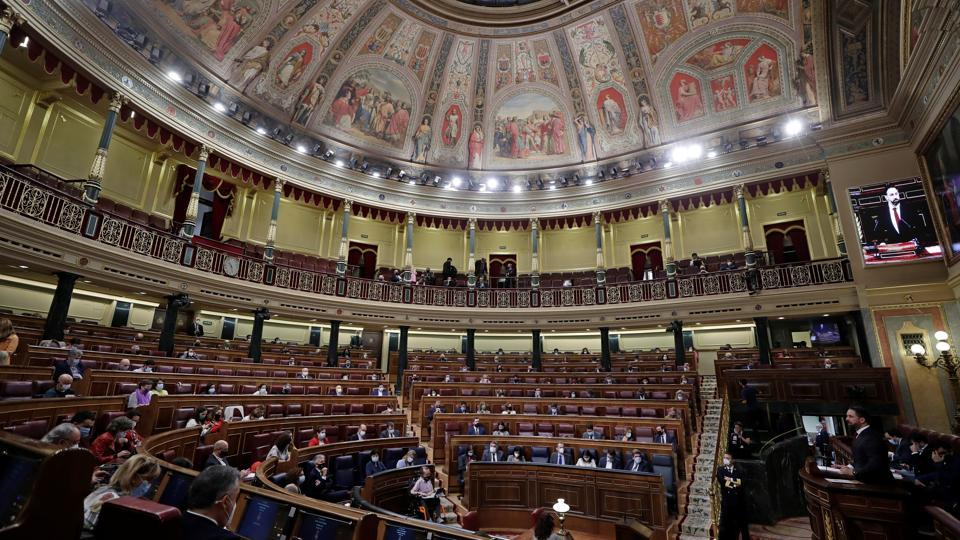 The parliament is hearing arguments for and against the motion on Wednesday before a vote scheduled for Thursday. Vox argues that Sánchez's government must depart for what the party says is the poor handling of the pandemic by authorities.