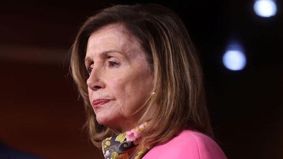 US House Speaker Nancy Pelosi .