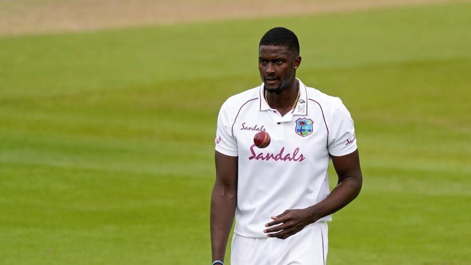 West Indies' Jason Holder.