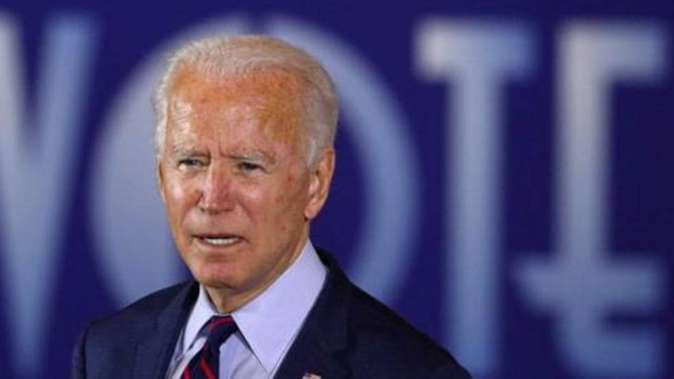 US Democratic presidential candidate Joe Biden might face his first real fight over possible White House aides.