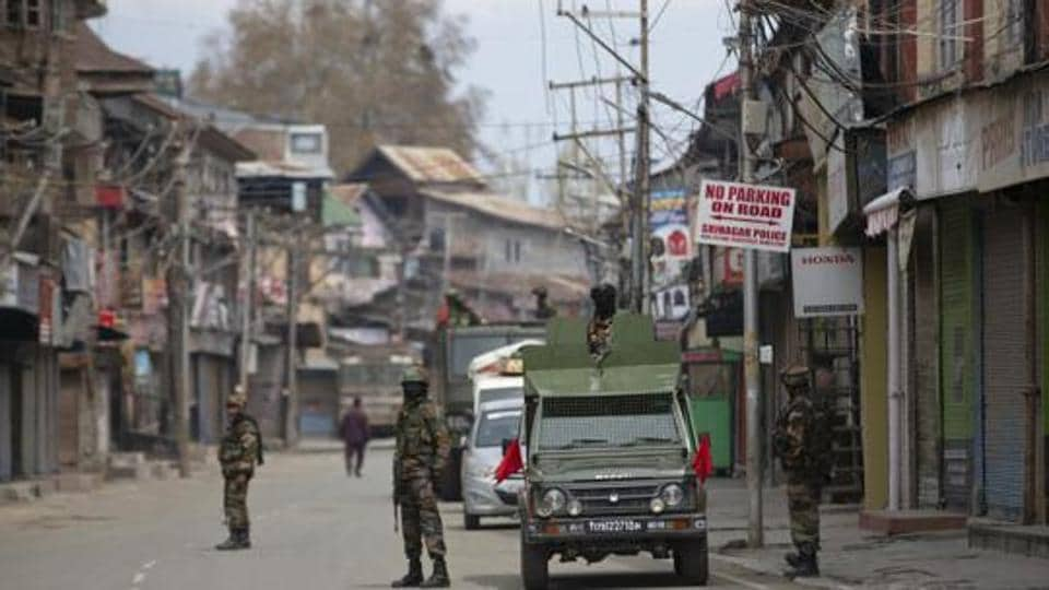 """On its website, the newspaper wrote that its office in a government building in Press Enclave that houses several other newspaper offices  was """"sealed without serving any cancellation or eviction notice to Kashmir Times or following any due process of law."""""""