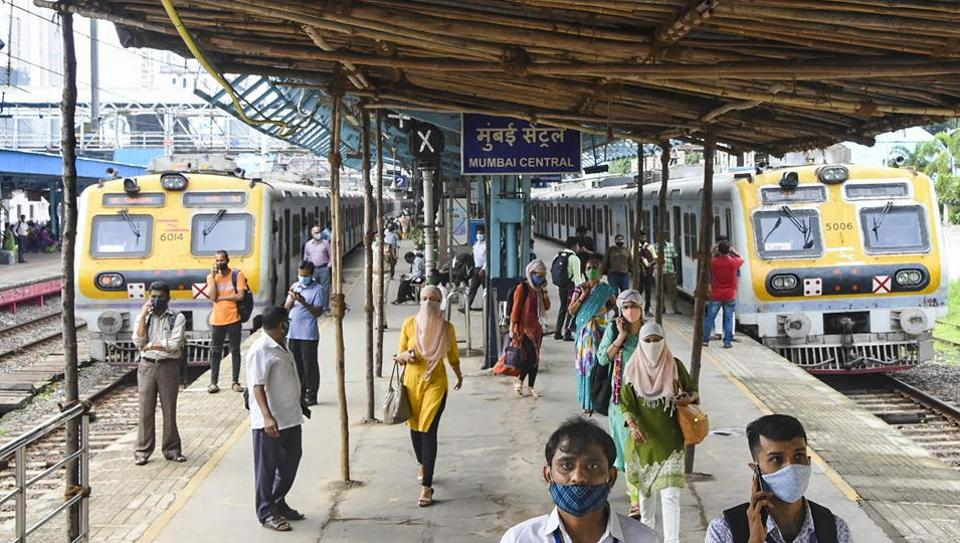 Women passengers will not be checked for identity cards while others travelling in Mumbai local trains will require QR code as usual.