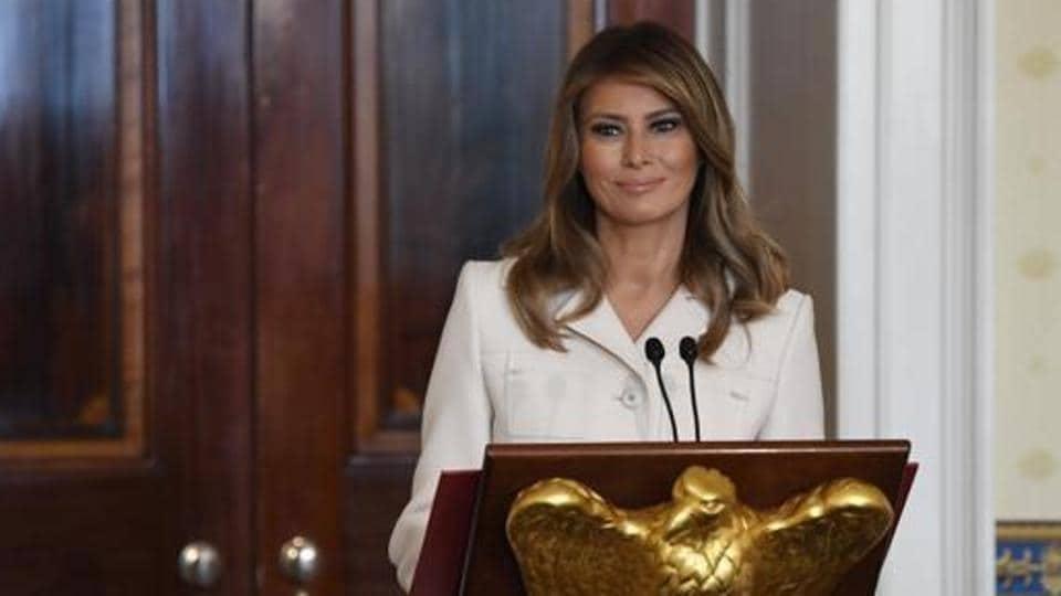 United States' first lady Melania Trump.