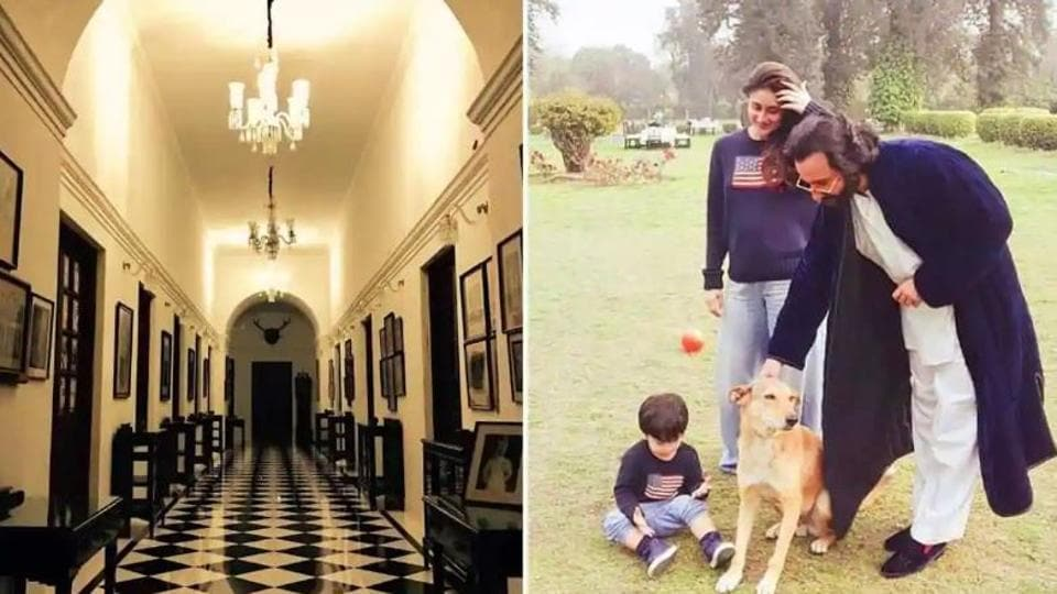 Saif Ali Khan oftens spends time at the Pataudi Palace with wife Kareena Kapoor and their son Taimur.
