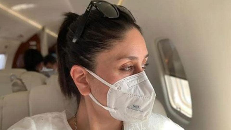 Kareena Kapoor had been to Pataudi with Saif Ali Khan and son Taimur.