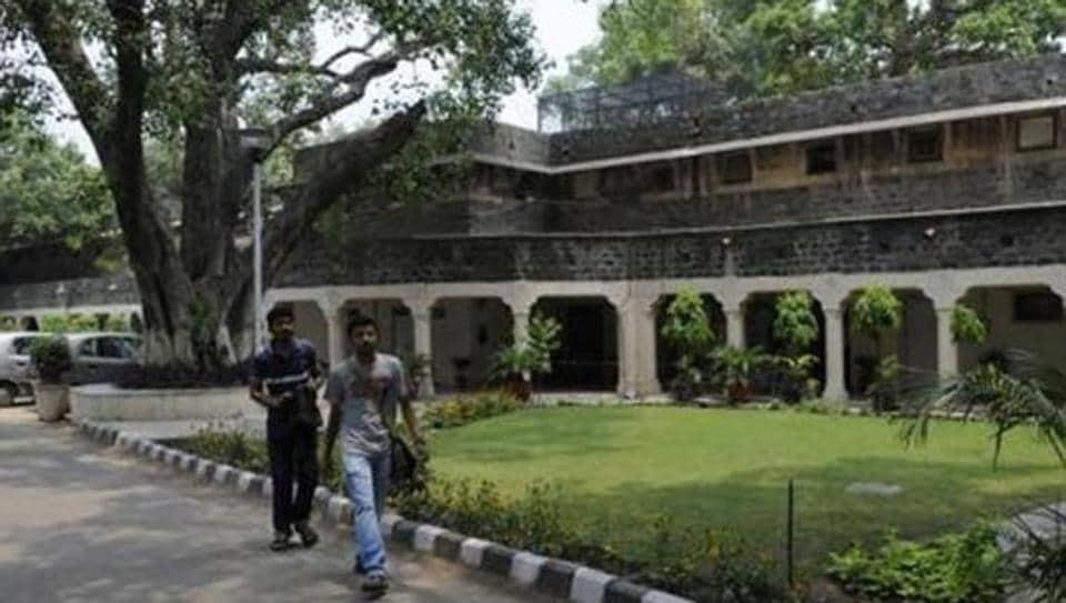 The Ambedkar University at Kashmiri Gate