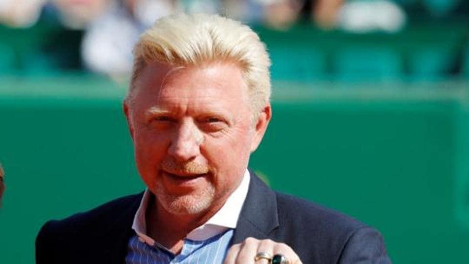 File photo of Boris Becker.