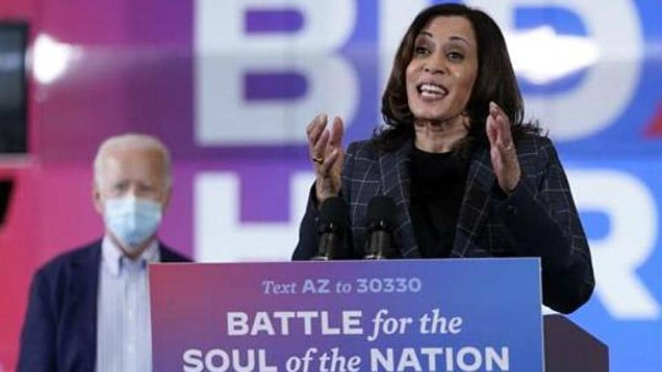 Kamala Harris slams Trump for being an 'incompetent' president