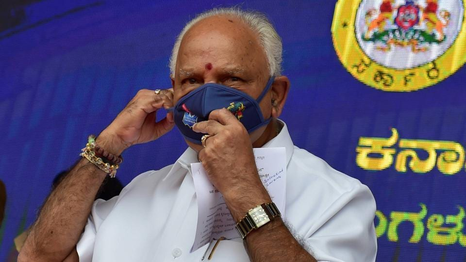 Karnataka Chief Minister BS Yediyurappa is facing dissidence from a section of the BJP.