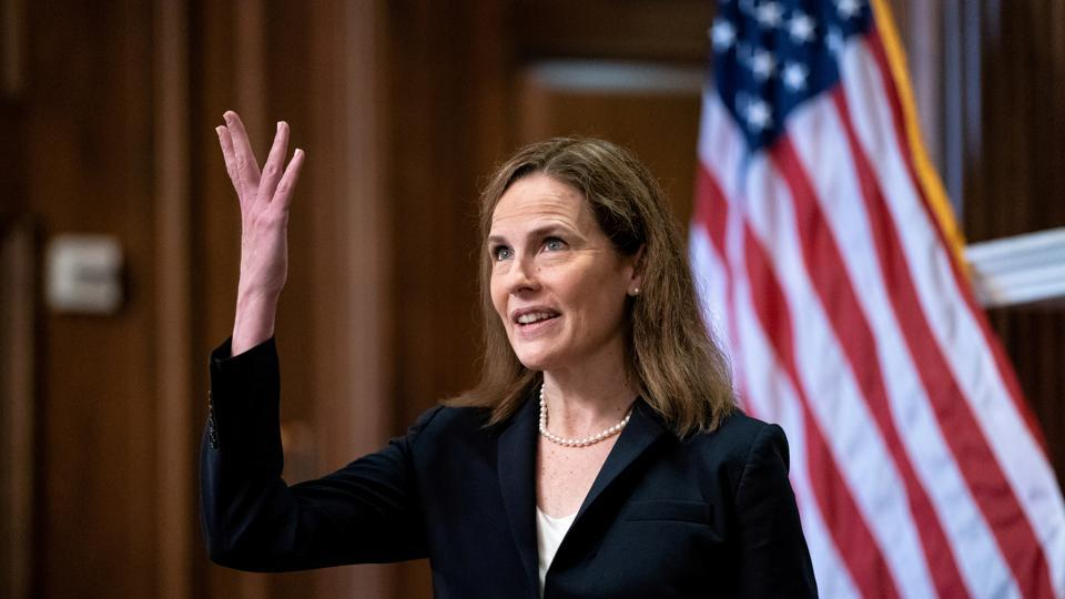 Democratic senators mostly avoided questions about Barrett's faith during confirmation hearings and instead focused on whether she would strike down Obamacare or the landmark Roe v.