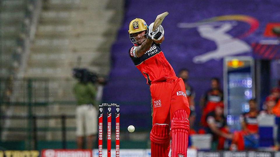 Royal Challengers Bangalore batsman Gurkeerat Singh plays a shot during Indian Premier League (IPL) cricket match against Kolkata Knight Riders.