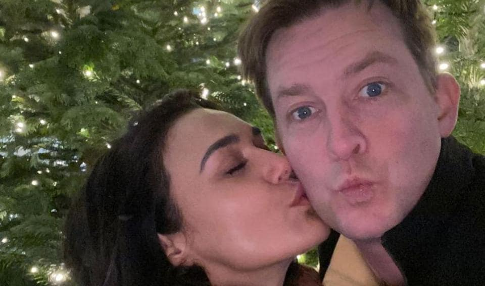Preity Zinta is in Dubai for IPL 2020, while her husband Gene Goodenough is in Los Angeles.