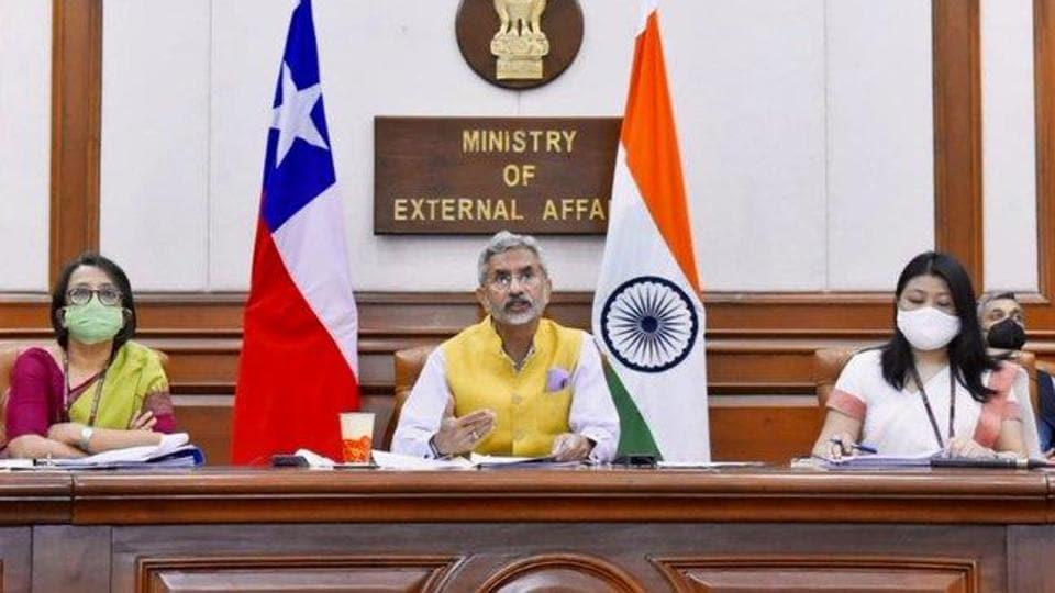 The four countries - India, Australia, US, Japan - in the Quad had come together because they find it useful to consult on issues of mutual interest, said S Jaishankar. (Photo @DrSJaishankar)
