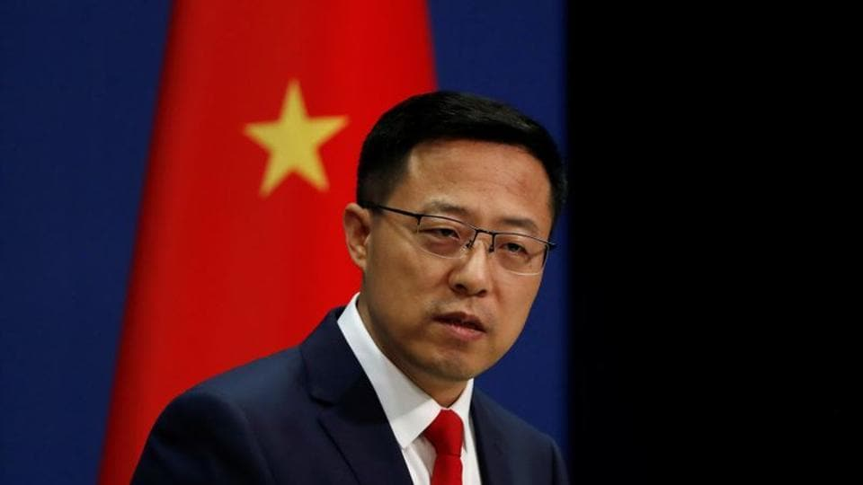 """The British side violated its promises, insisted on going its own way and repeatedly played up the issue of BNO Passports,"" Zhao told reporters at a daily briefing."