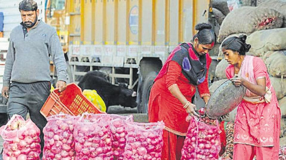 Prices are likely to cool after fresh harvests from rain-hit Maharashtra replenish the markets by mid-November.