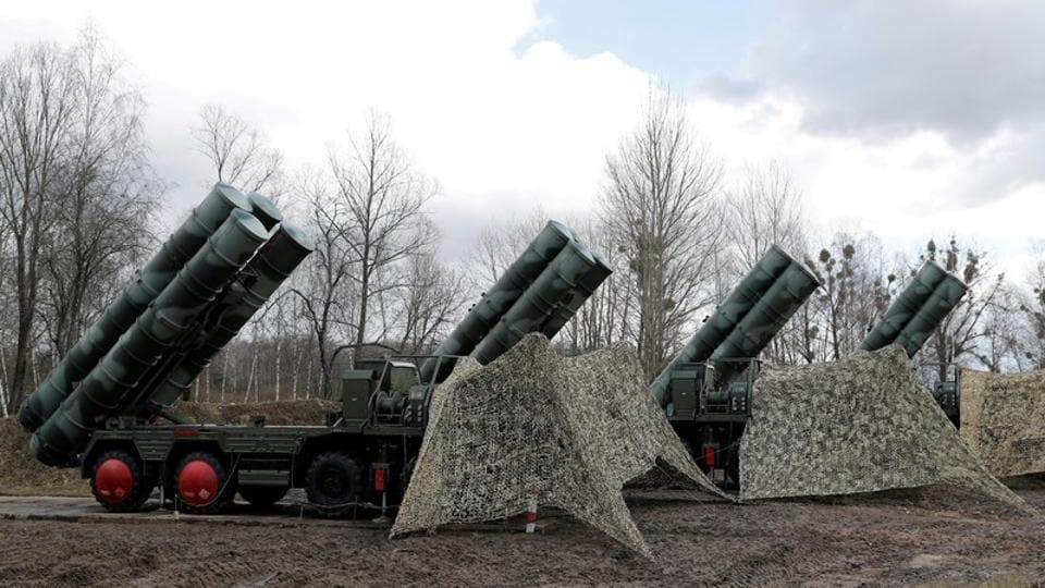 Washington has strongly objected to NATO member Turkey's acquisition of the Russian anti-aircraft system saying the S-400s are a threat to the stealth fighter jets and wouldn't be interoperable with NATO systems.