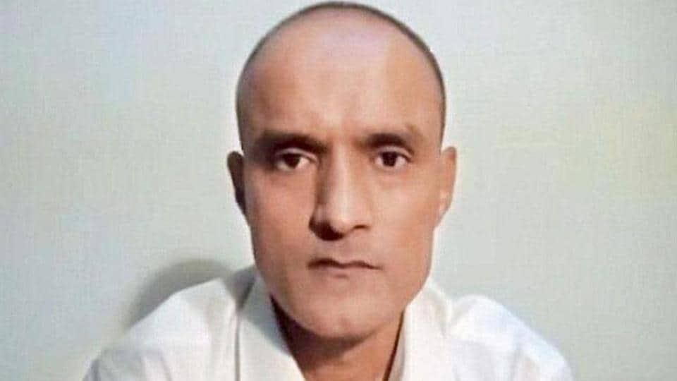Former Indian naval officer Kulbhushan Jadhav who has been sentenced to death by a Pakistani military court for espionage.