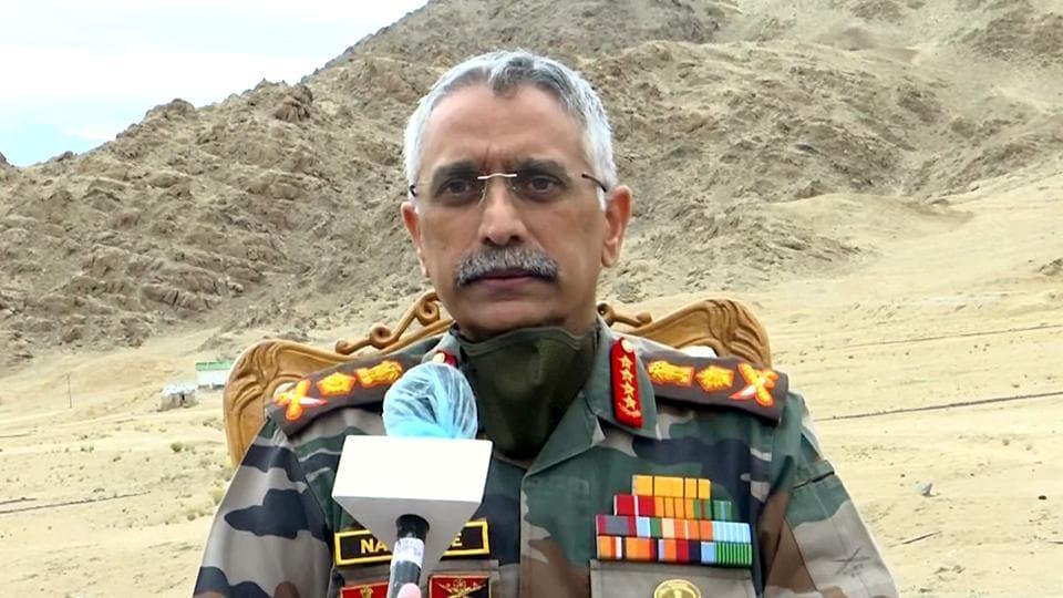 Army chief General Manoj Mukund Naravane.