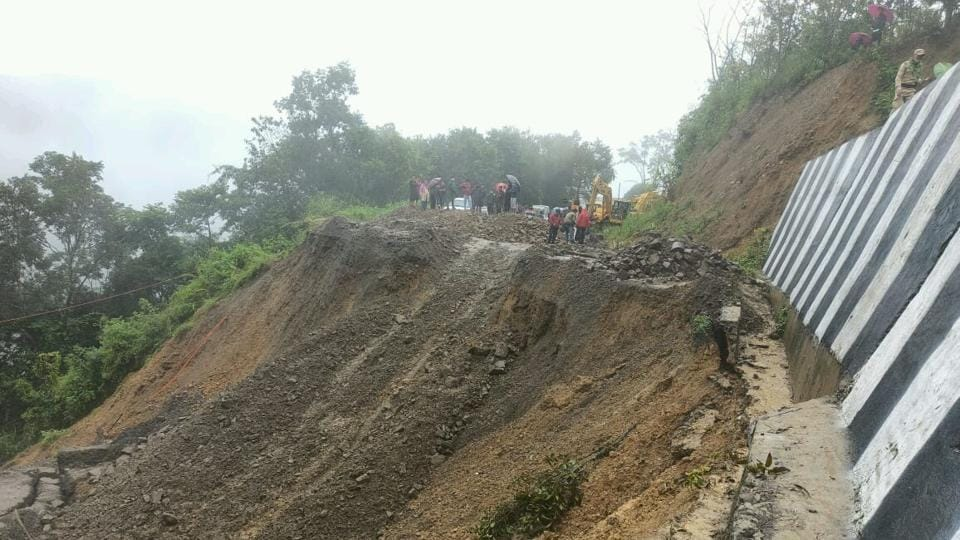 Senapati district administration officials said they were monitoring the situation while necessary steps were being taken to address the situation.
