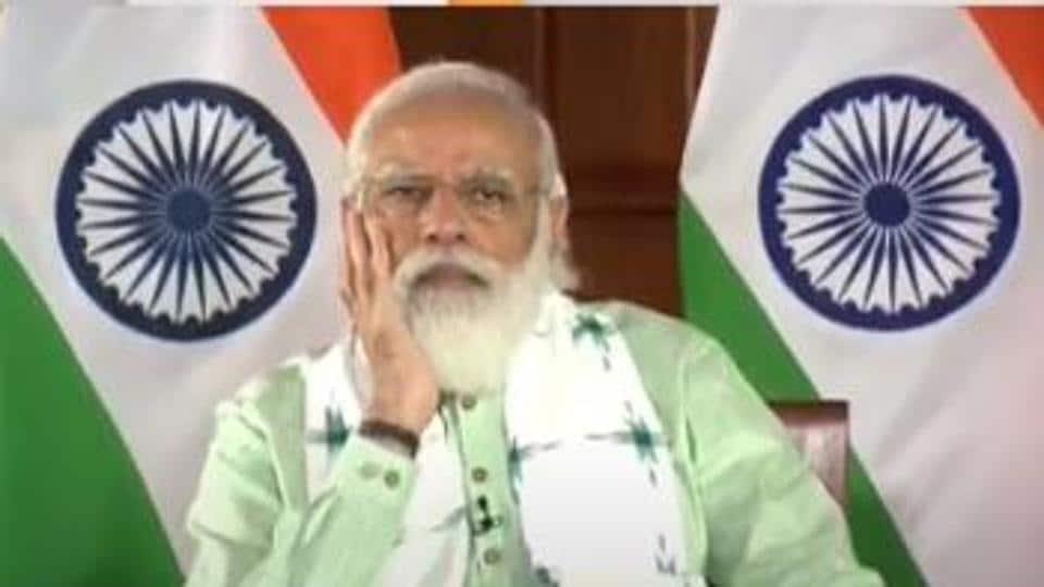 Prime Minister Narendra Modi inaugurated three key projects in Gujarat.
