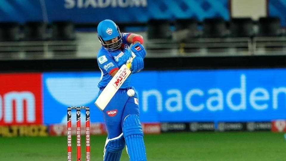 Photo of Prithvi Shaw from an IPL 2020 match in UAE