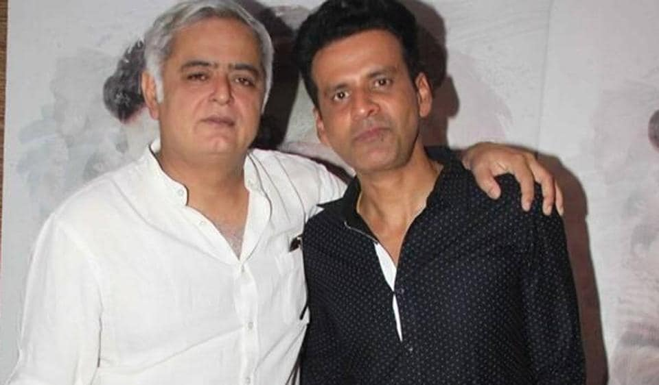 Hansal and Manoj have worked together on three films, including Aligarh.