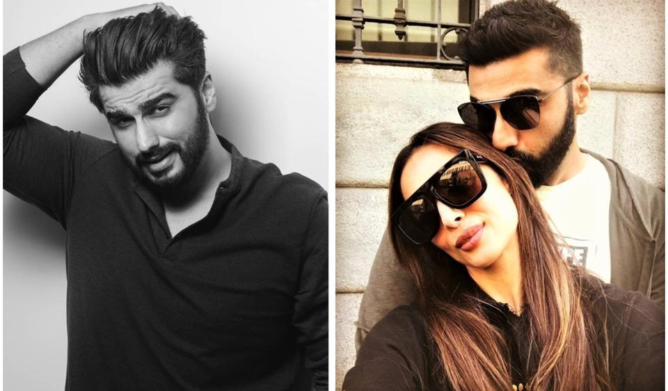 Malaika Arora seems to love Arjun Kapoor's messy hair look.