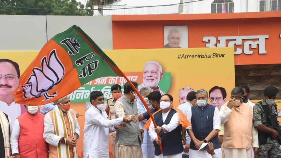 The Rashtriya Janata Dal (RJD)  hopes to benefit form the internecine fight between the LJP and the JD(U) but it was beset  by rebellion two months before the polls