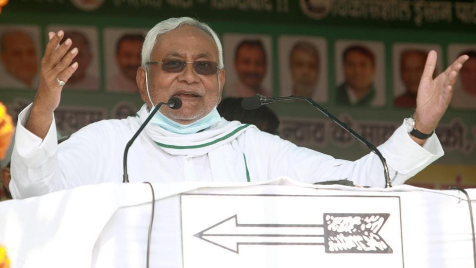 Bihar assembly election 2020:  Nitish Kumar, the chief minister of the state.