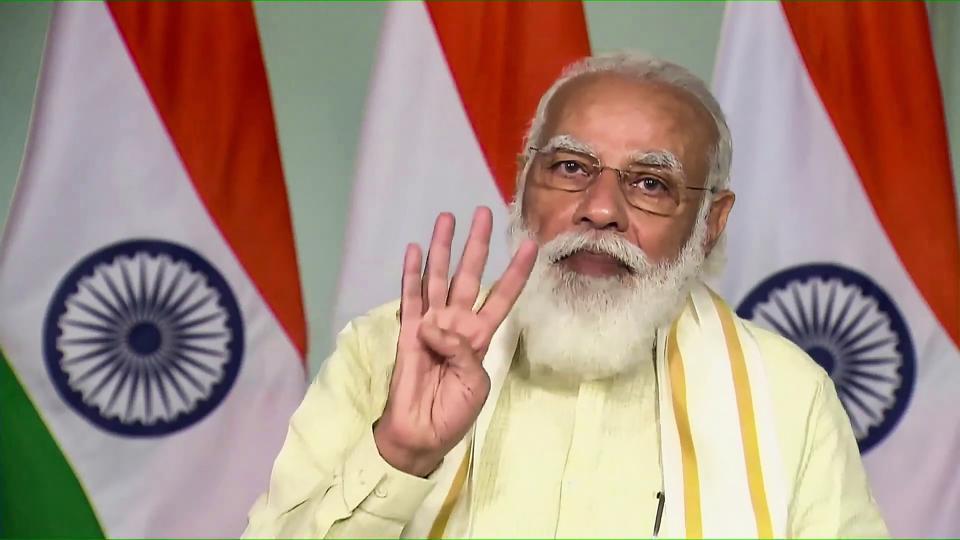 Prime Minister Narendra Modi on Saturday inaugurated three projects in Gujarat.