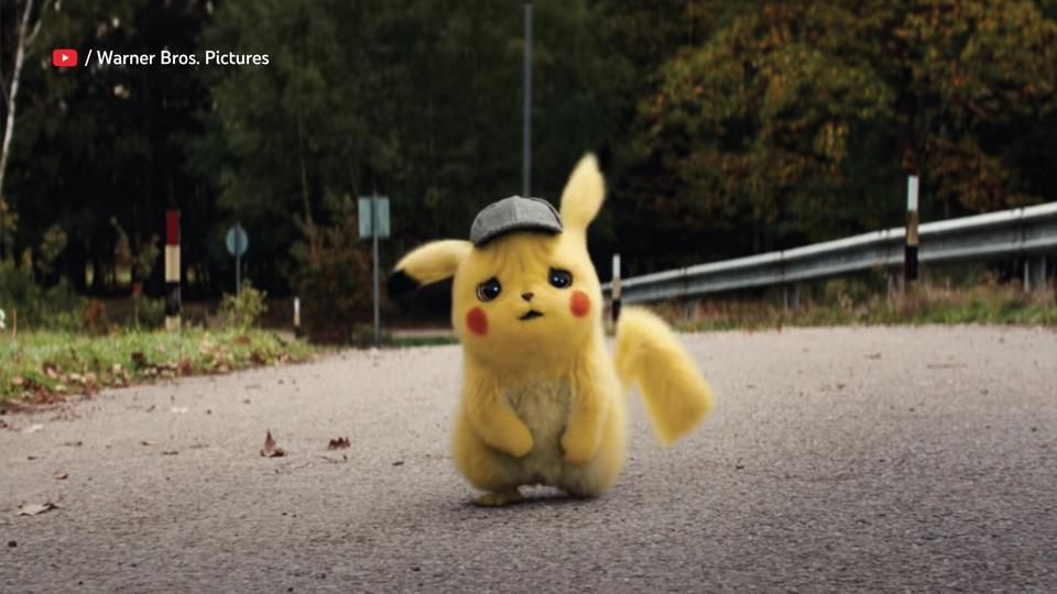 The image shows character Pikachu from the series Pokemon.