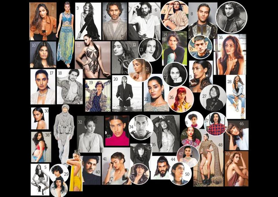 The jury consisting the best of the fashion run have chosen the top 50 models of 2020