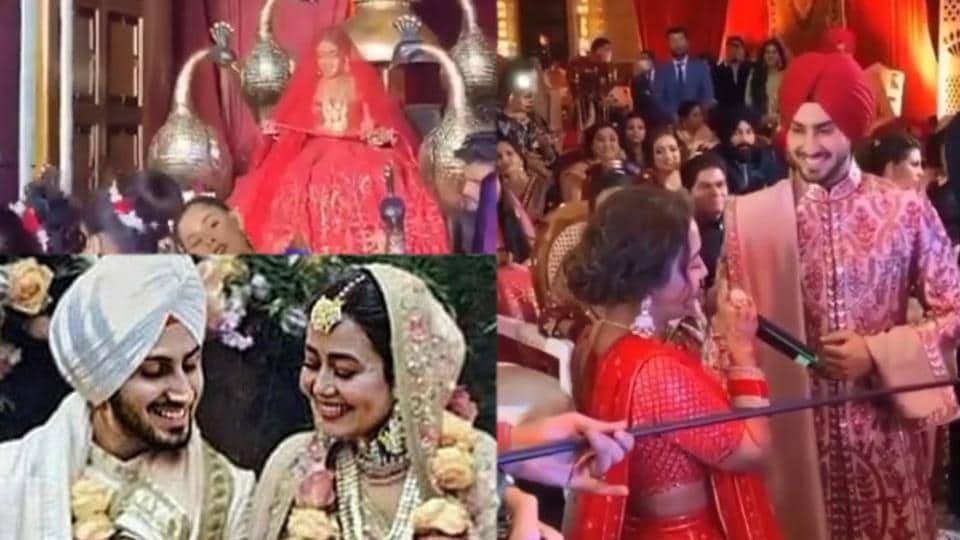 Neha Kakkar and Rohanpreet are now married.