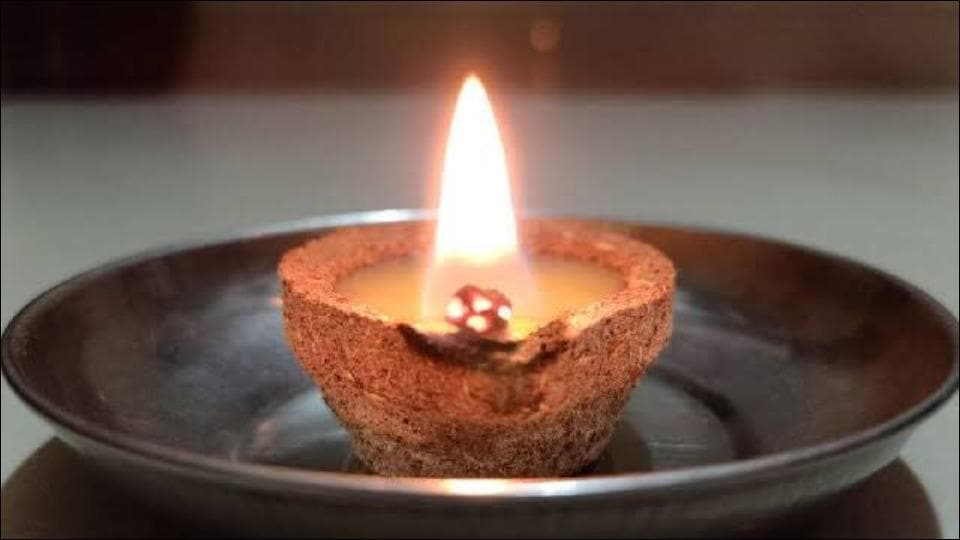 As Diwali approaches, Gaushala in Mohali makes lamps out of cow dung