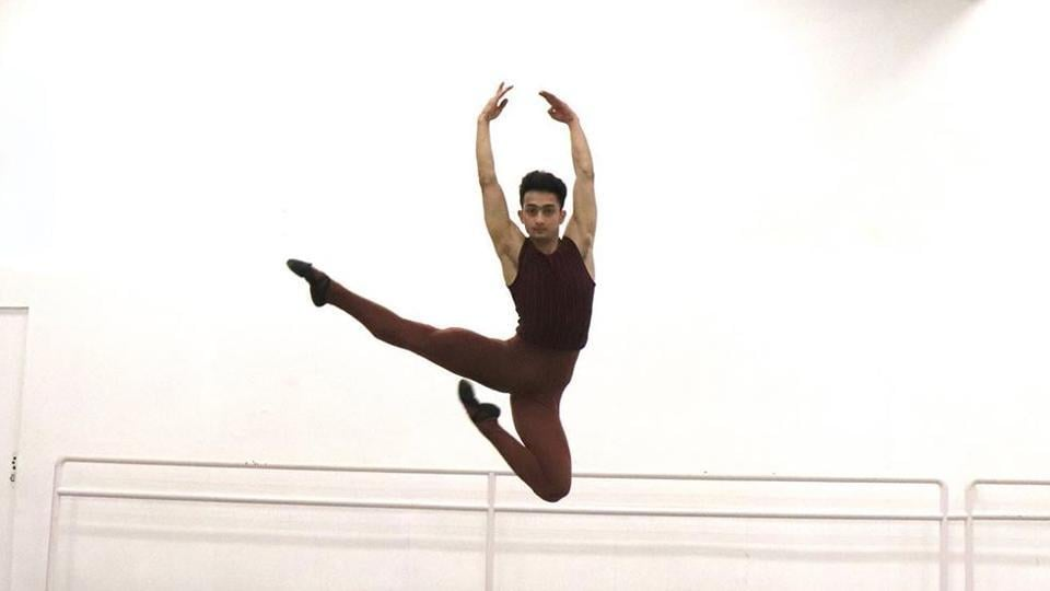 """""""I still feel very strange, like a miracle that I am attending my ballet course at ENBS,"""" said Singh."""